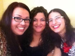 SISTERS <3 Sanaya, Dina and I! Aren't we all so beautiful!!!!