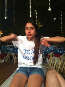 Zaaru Paaru!!! My baby cousin! My sister!