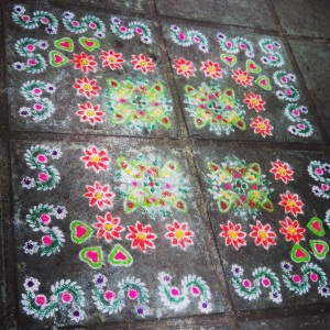 I wish we could do this in Canada!!!!!! RANGOLI!