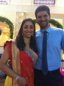Ruks and her handsome husband Sherwin!