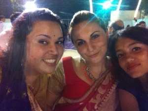 Shal, Iyana and I at the wedding!